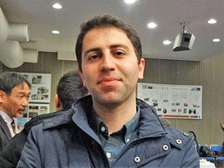 JSPS Research Fellow Sadra Karimzadeh